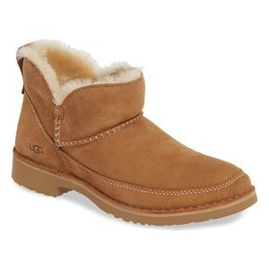 Melrose Genuine Shearling Bootie NWT